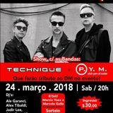 Depeche Mode - Global Spirit Tour Party @ 80´s Lounge - DJ Set by Marcelo Vitorino - 2018, 23 March