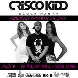 Kara Tenae, Cecy B & DJ Philthy Phill - Crisco Kidd Block Party 10/04/14