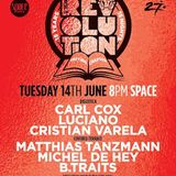 Matthias Tanzmann @ Carl Cox - The Final Chapter (Opening Party) at Space Ibiza - 14 June 2016