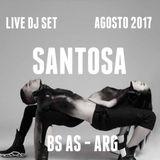 Set  emitido en www.understation.com.ar  Santosa - Under Station Radio Agosto 2017