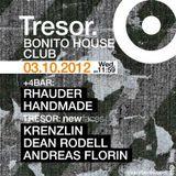 Andreas Florin @ Tresor Berlin 03.10.2012