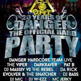 Evolver & The Snatcher - 20 Years Danger Hardcore Team 24-10-2015, Stadsfeestzaal Aarschot (BE)