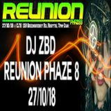 DJ ZBD LIVE AT REUNION PHAZE 8 @ CJ'S ROSYTH 27/10/18