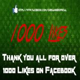 Chris Anger - Thanks for 1000 Likes on Facebook