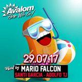 AVALOM@29.07.17 MARIO FALCON · SANTI GARCÍA · ADOLFO TJ