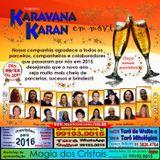 Programa Karavana Karan 29/12/2015 - Especial Ano Novo