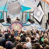 DRISS & ELIXIR - DJ SET @ Hadra Trance Festival 2014 (Temple Stage)