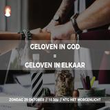 """""""Geloven in God = Geloven in elkaar"""" - Pastor Roy Manikus 29-10-2017"""