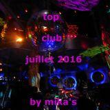 top club juillet 2016