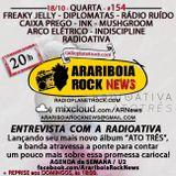 # 154 Arariboia Rock News - 18.10.2017 - Especial Radioativa
