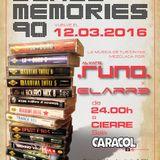 Dance Memories 90 v.9 @ Sala Caracol (12.03.2016) Parte 1 de 2