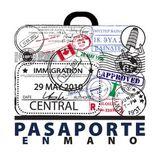 Pasaporte en mano - Bélgica