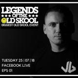 Legends Of The Old Skool Facebook Live Eps 01