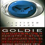 Kemistry, Storm & Goldie - Metalheadz - Zap, Brighton 16.9.96