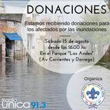 Campaña donacion inundados