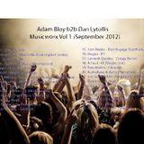 Adam Bloy b2b Dan Lytollis - Musicworx Volume 1 (September 2012)