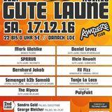 Bernhard Jakob  -Gute Laune- Ampere - München, 17.12.2016 (00-01 Uhr)