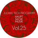Rautemusik Techhouse Julians Tech Programm Vol.25