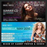 Sammy Porter & Kenzie - Unique Parties May 2014 Mix