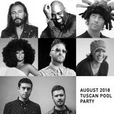 August 2018 Tuscan Pool Party