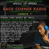 BACK CORNER RADIO: Episode #264 (March 30th 2017)