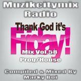Marky Boi - Muzikcitymix Radio Mix Vol.58 (Prog/House)