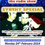 THE JOHNNY NORMAL RADIO SHOW 40 - 24TH FEB 2014