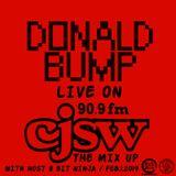 Donald Bump Live on CJSW 90.9fm Feb.1 2019