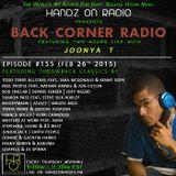 BACK CORNER RADIO: Episode #155 [#THROWBACK EDITION] (Feb 26th 2015)