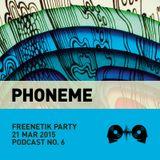 Phoneme @ Freenetik Party, Timisoara, RO - 21 Mar 2015 - Morning Mix