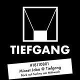 #18110801 - Mixset - Jaba @ Tiefgang - Bock auf Techno am Mittwoch