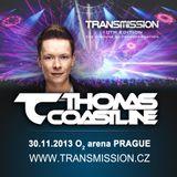 Thomas Coastline live @ TRANSMISSION (The Machine Of Transformation)