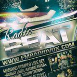 Mariano_Pompeo_Radio_Vox102.9_RadioBeat 04.12.15