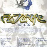 DJ E + MC C + MC Eddy Freeze + MC Soultrain @ FUTURE, Vibration Forst (02.11.1996)