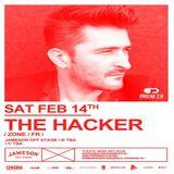 The Hacker @ Prozak 2.0 Krakau - 14.02.2015