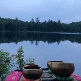 Singing Bowls Live July 1 2018 at Chapman Pond, New Hampshire