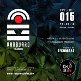 VANGUARD RADIO Episode 015 with TEKNOBRAT - 2016-08-13TH CHUO 89.1 FM Ottawa, CANADA