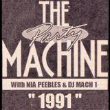 "Nia Pepples + DJ Mach 1 - The ""PARTY MACHINE tribute"