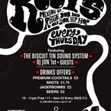 Thursday night at the basement Roots
