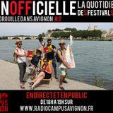 Inofficielle #2 - Radio Campus Avignon - 22/07/2014