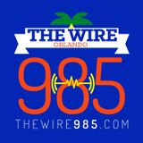 "98.5 The Wire DJ RL ""The Blend King"" Mix Show 7"