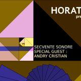 Horatio Prezinta Secvente Sonore 25 Special Guest Andry Cristian