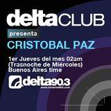 Delta Club presenta Cristobal Paz (8/12/2011)
