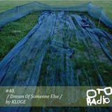 #40. KLUGE - dream of someone else