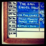 Sacco and Vanzetti Dance Party Volume 1 9.17.12