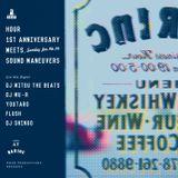 HOUR 1st anniversary meets. SOUND MANEUVERS