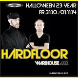 Warehouse Club - HARDFLOOR - Ramon Zenker & Oliver Bondzio Promo Set 23 Years Warehouse