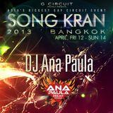 SONG KRAN PODCAST 2013 - DJ ANA PAULA