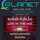 Runar Schlag ~ Live in The Mix @ PlanetApuriFM Show 2020.04.13 (Special Edition Easter Monday) #035