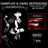 "RADIO S&SR Transmission n°1081 -- 02.10.2017 (Top Of The Week ""AMORPHOUS"")"